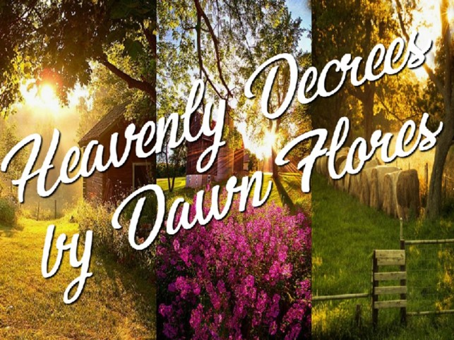 Prophetic Declarations to Speak as You Move Thru Your New